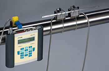 Przenośny przepływomierz ultradźwiękowy FLUXUS F601