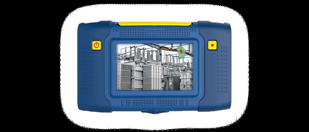 Kamera akustyczna obrazująca wyciek sprężonego powietrza