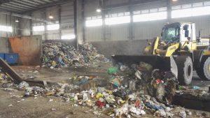 Hala przyjęć odpadów