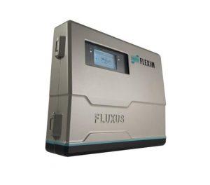 Stacjonarny przepływomierz Fluxus serii WD do pomiaru wody