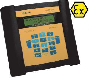 Przepływomierz ultradźwiękowy do gazów Fluxus G608 Ex